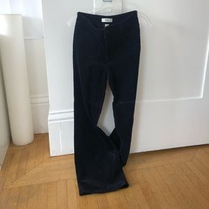 Corduroy Bell Bottomed Pants